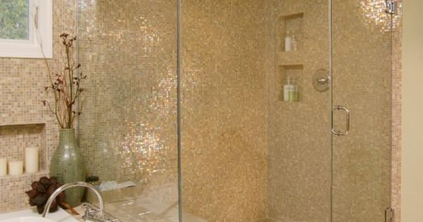 Master bathroom shower tiles
