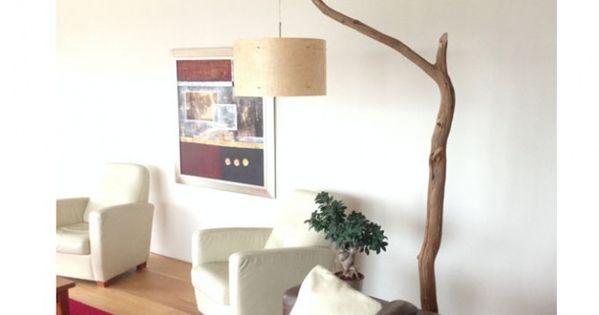branche arbre lampadaire etsy un arbre dans la maison. Black Bedroom Furniture Sets. Home Design Ideas