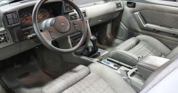 1989 Mustang Lx Interior