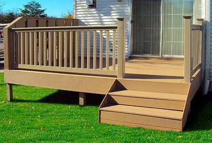 Small Deck Designs Ideas Pictures Online Plans Small Deck Designs Deck Design Small Deck