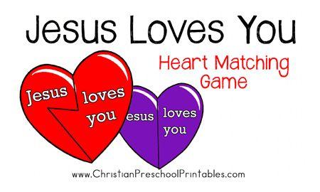 Jesus Loves You Game for PreK and KG | Ultimate Homeschool ...