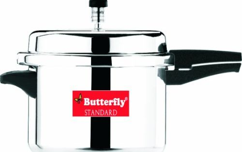 15 Psi Electric Pressure Cooker Butterfly SP-12L Standard Plus Aluminum Pressure Cooker ...