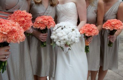 46 Elegant Grey And Coral Wedding Ideas | HappyWedd.com ...