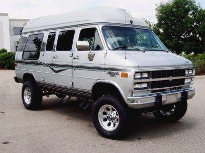 4x4 Conversion Kits Chevy Van Custom Vans Lifted Van