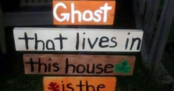 Quot The Only Ghost That Lives In This House Is The Holy Ghost