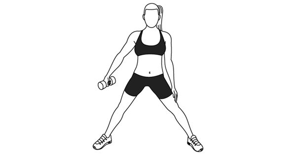 figure 8 squat