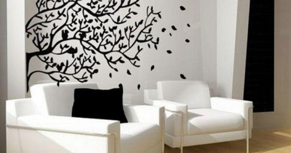 w nde streichen ideen f r das wohnzimmer wand farbe. Black Bedroom Furniture Sets. Home Design Ideas