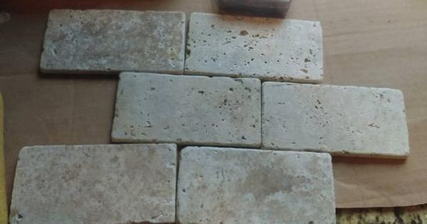 Ms International Bologna Chiaro 3 In X 6 In Tumbled Travertine Floor And Wall Tile 1 Sq Ft Case Thdw3 Travertine Floors Wall Tiles Floor And Wall Tile