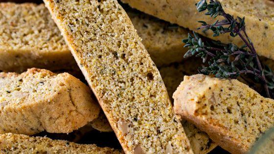 Black Olive Biscotti Recipe — Dishmaps