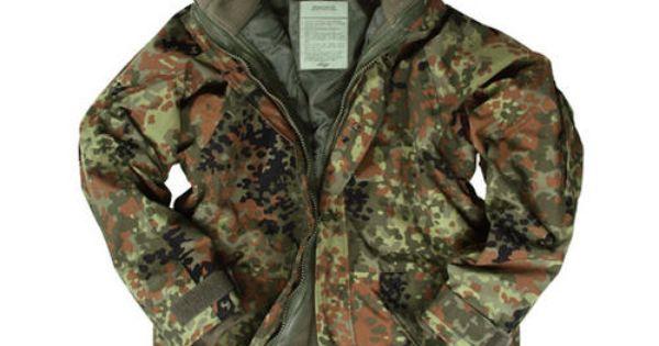 Mil-Tec ECWCS Jacket with Fleece Flecktarn Preview ...