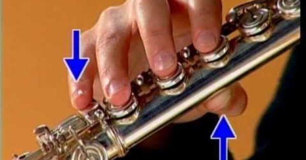 Posicion De Las Manos Y Digitacion Flauta Traversa Flauta Digitacion