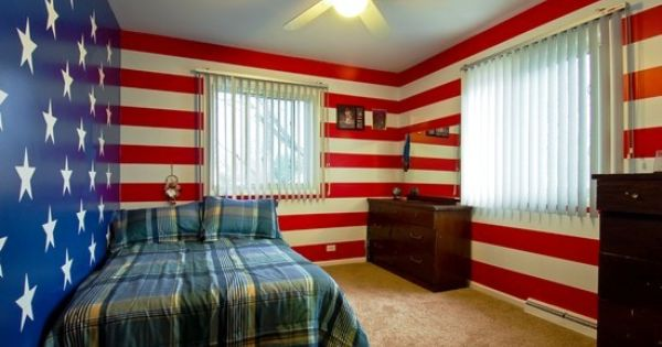 Patriotic Walls This Is Awesome Tyler S Room