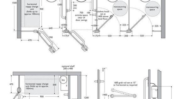 Toilet Cubicle Dimensions Interiors Ref Toilet Cubicle