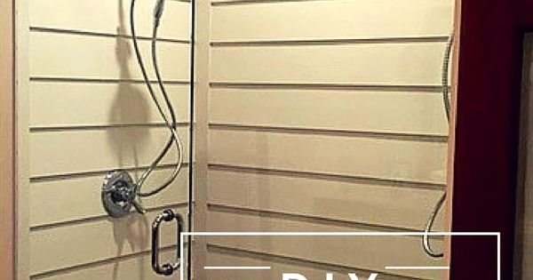 Shiplap Shower Reveal Bath Steam Showers Bathroom And