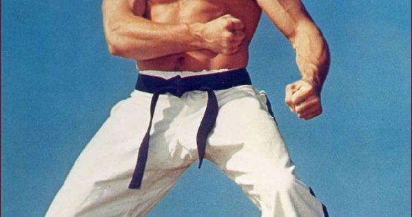 Joe Lewis, champion de karaté, kickboxer, élève de Bruce ...