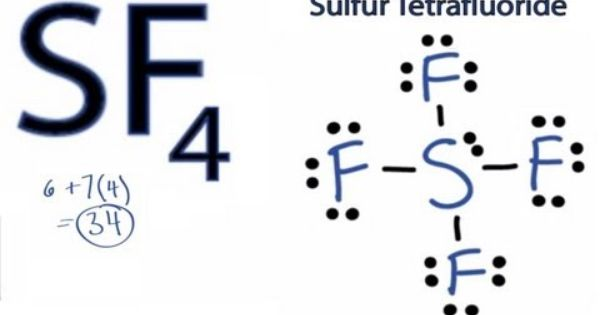 sf4 lewis structure  how to draw the lewis structure for