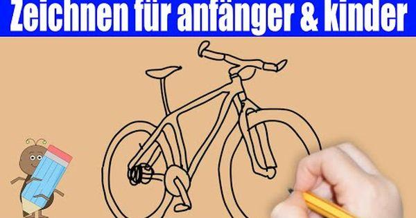 Fahrrad Zeichnen In 70s Zeichnen Lernen Fur Anfanger Amp