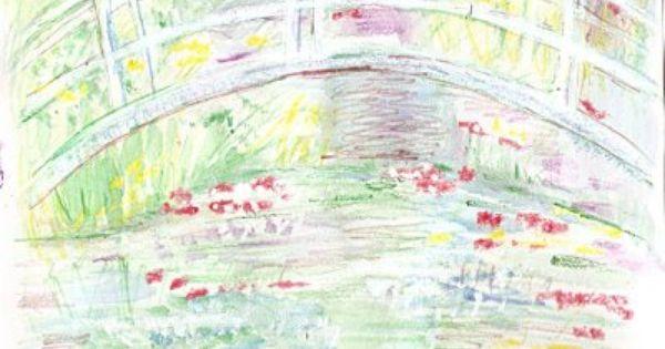 Miss Julie S Art Class Impressionism Monet Project Using