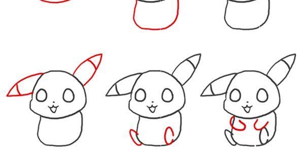 Pikachu is your favourite Pokemon? Learn how to draw this ...