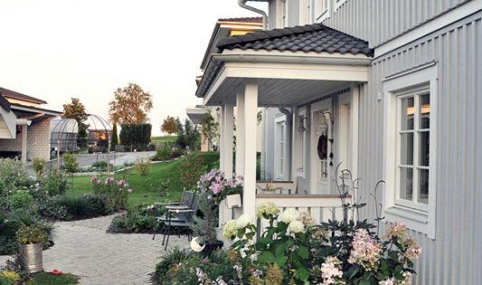 skandinavisches wohnen wohnen in weiss shabby chic schwedenhaus green gate haust r. Black Bedroom Furniture Sets. Home Design Ideas