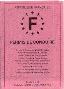 Permis De Conduire En France Wikipedia Permis De Conduire