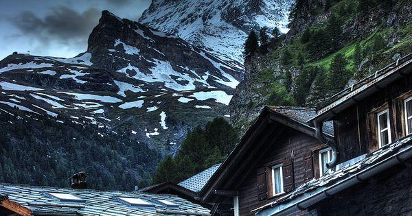 Matterhorn from Zermatt, Switzerland The Matterhorn (German), Cervino (Italian) or Cervin (French),