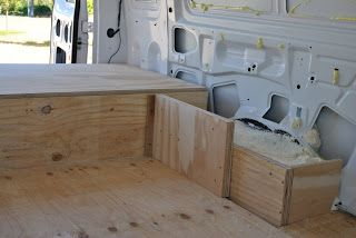 Making Of The Bed Van Conversion Interior Van Interior
