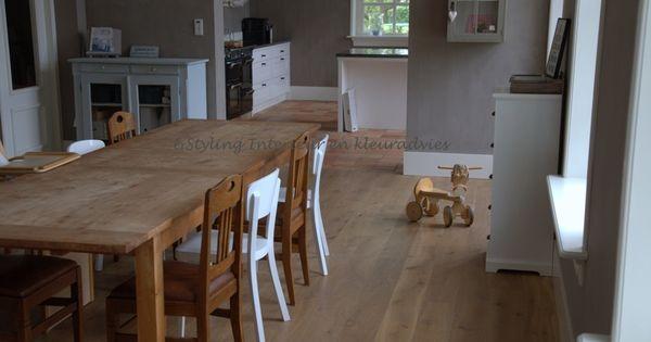 Interieur en kleuradvies dream home pinterest interieur hout meubels en donker - Eetkamer interieur decoratie ...