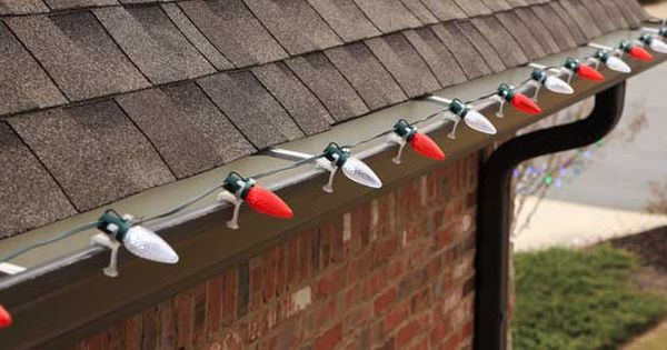 Best Way To Hang Christmas Lights Outside: Christmas Lights Installation Help | Christmas decorating ideas, Safety and  Decorating ideas,Lighting