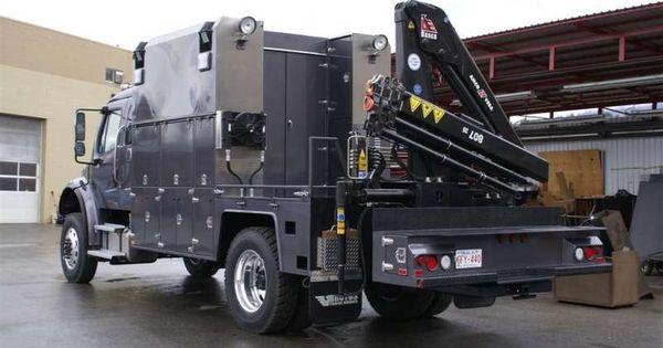 Semi Truck Oil : Oil field truck brutus bodies semi trucks