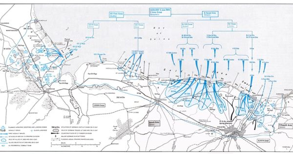 d day invasion map omaha beach