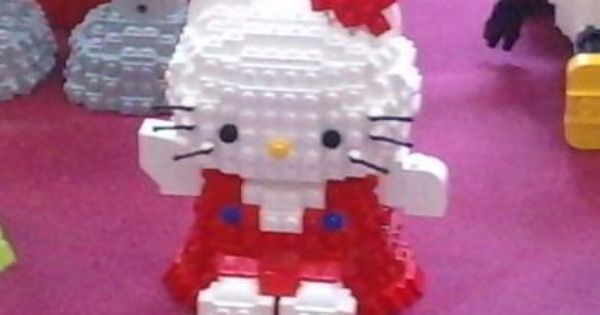 Hello kitty, Lego and Kitty on Pinterest