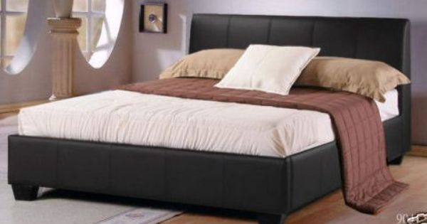 Waterbeds Leather Waterbeds Faux Leather Waterbeds Brown Leather Bed Leather Bed Brown Furniture Bedroom