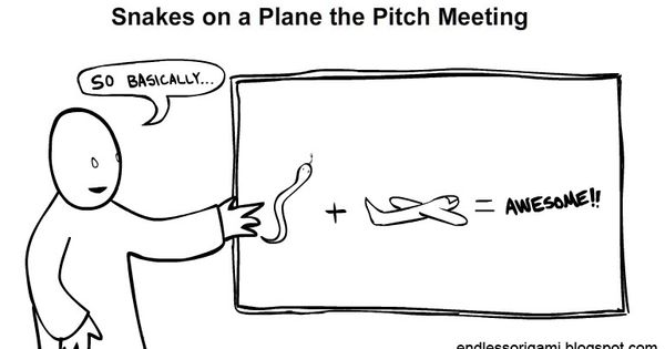 Snakes On A Plane Pitch Meeting