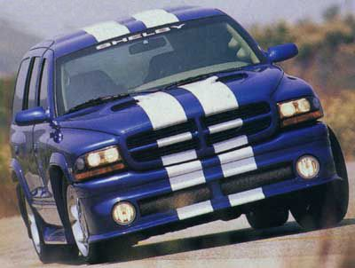 1999 2000 Dodge Durango Shelby Sp360 Fs 1999 Dodge Durango Shelby Sp 360 Viper Blue Fvr Dodge Durango Dodge Shelby