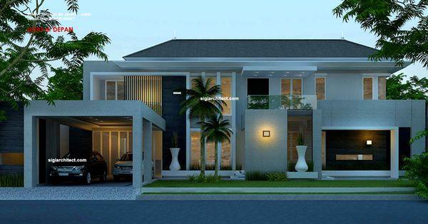 Desain Foyer Minimalis : Cara desain rumah minimalis modern lantai g