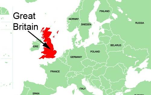 Great britain is the largest island in europe and the for Great pictures of the world