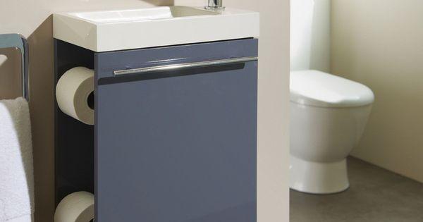 Meuble lave mains complet avec distributeur de papier for Distributeur meuble