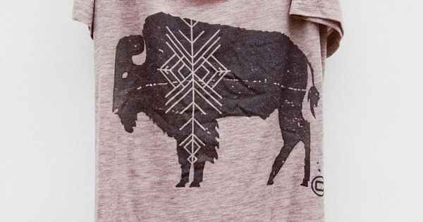 Camp brand tee: Bison