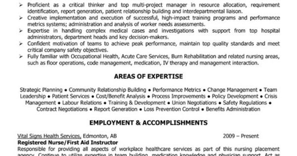 occupational health and safety manager resume template
