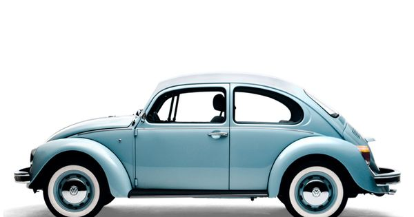 Original Volkswagen Beetle. (The color of one a good friend in high