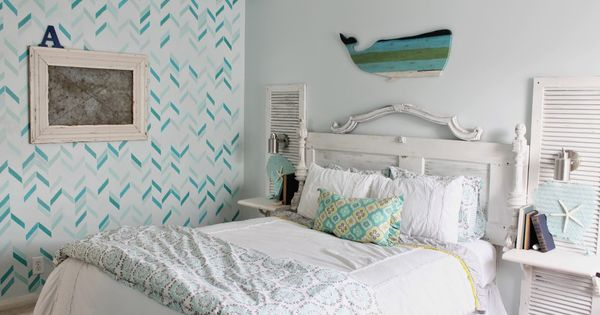 Shabby Beach Bedroom House Pinterest Bedroom Shabby Chic Beach