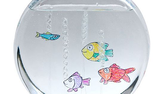 Make Floating Faux Fish: Create a tropical fishbowl full of finny friends