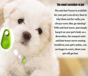 Pet Dog Anti Lost Tracker Smart Bluetooth Tracer Locator Tag Alarm