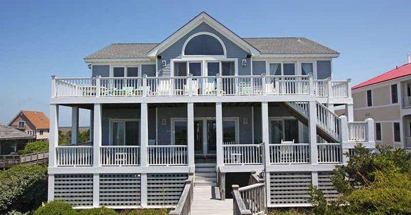 House carolina beach house dream pinterest oak island