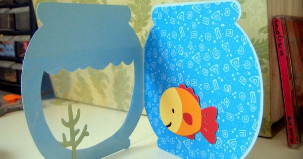 Laboratori per bambini vasca con pesce kids craft for Vasca per papere