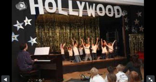 Classroom Decoration Ideas For Elementary School ~ Talent show theme pinterest hollywood
