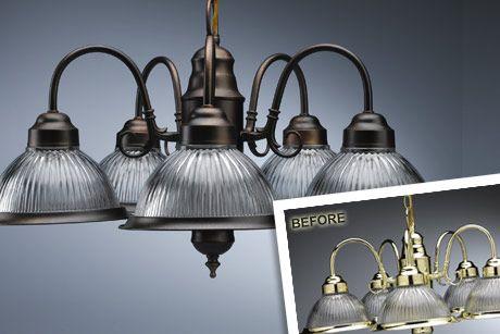 Light Fixture Re Do Oil Rubbed Bronze Light Fixtures Painting Light Fixtures Bronze Light Fixture