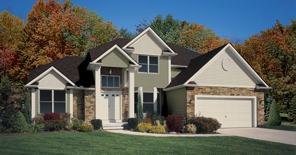 Plant Shrubs And Bushes That Change With The Seasons To Bring Some Excitement To Your Exterior The Home Is Cypre Parade Of Homes Vinyl Siding Design Your Home