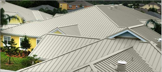 Sandstone Color Metal Roof Metal Roof Roof Colors Standing Seam Metal Roof